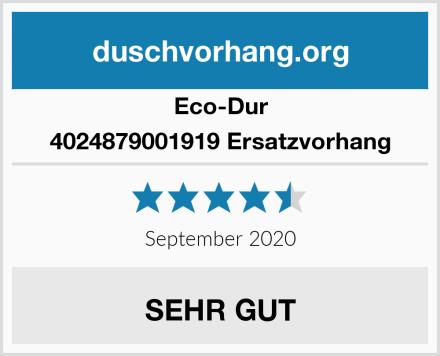 Eco-Dur 4024879001919 Ersatzvorhang Test