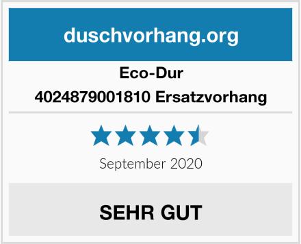 Eco-Dur 4024879001810 Ersatzvorhang Test