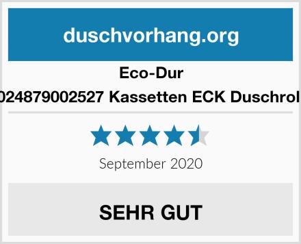 Eco-Dur 4024879002527 Kassetten ECK Duschrollo Test