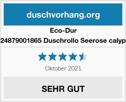 Eco-Dur 4024879001865 Duschrollo Seerose calypso Test