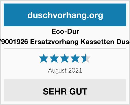 Eco-Dur 4024879001926 Ersatzvorhang Kassetten Duschrollo Test