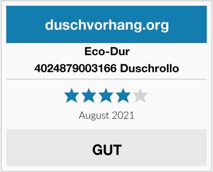 Eco-Dur 4024879003166 Duschrollo Test