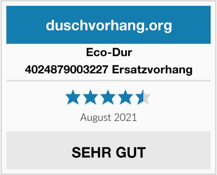 Eco-Dur 4024879003227 Ersatzvorhang Test