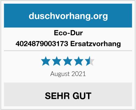 Eco-Dur 4024879003173 Ersatzvorhang Test