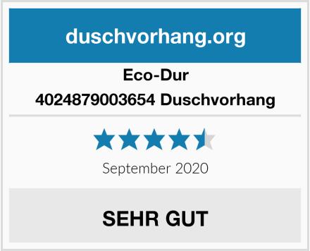 Eco-Dur 4024879003654 Duschvorhang Test