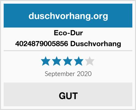 Eco-Dur 4024879005856 Duschvorhang Test