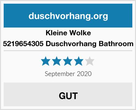 Kleine Wolke 5219654305 Duschvorhang Bathroom Test