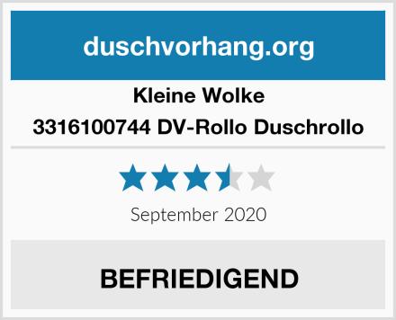 Kleine Wolke 3316100744 DV-Rollo Duschrollo Test