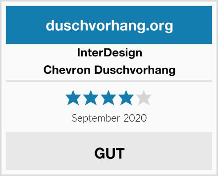 InterDesign Chevron Duschvorhang Test