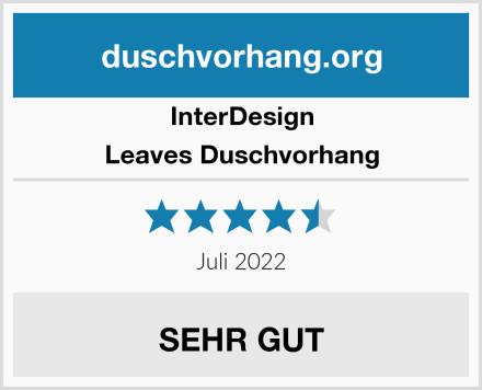 InterDesign Leaves Duschvorhang Test