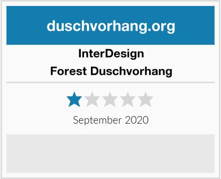 InterDesign Forest Duschvorhang Test