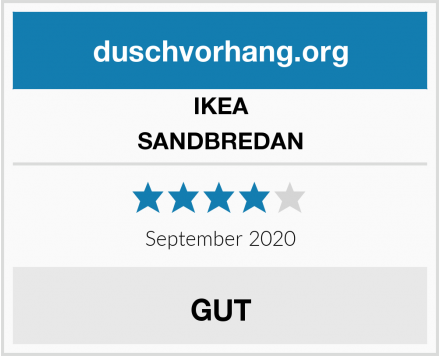 IKEA SANDBREDAN Test