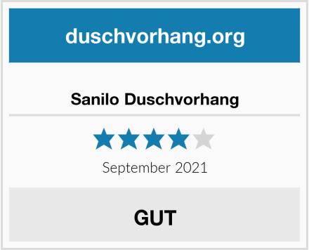 Sanilo Duschvorhang Test