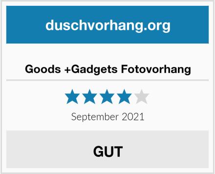 Goods +Gadgets Fotovorhang Test