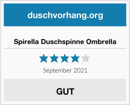Spirella Duschspinne Ombrella Test