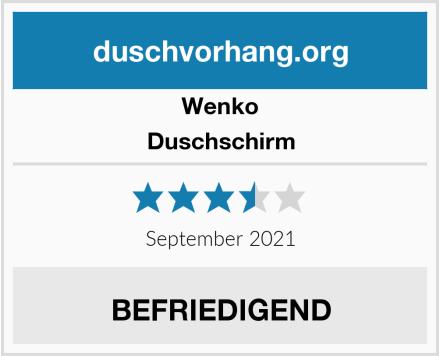 Wenko Duschschirm Test
