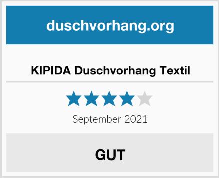 KIPIDA Duschvorhang Textil Test