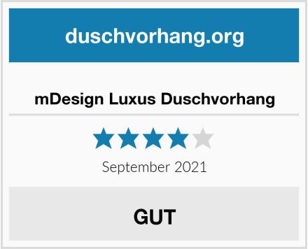mDesign Luxus Duschvorhang Test
