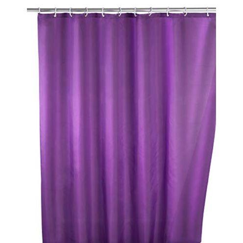 Wenko Anti-Schimmel Duschvorhang Uni Purple