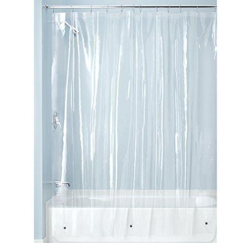 InterDesign Duschvorhang aus Stoff