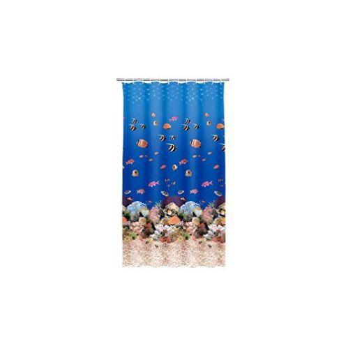 Kleine Wolke Duschvorhang Aqua