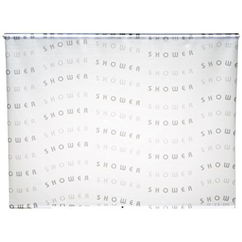 Eco-Dur 4024879003159 Duschrollo Shower grau