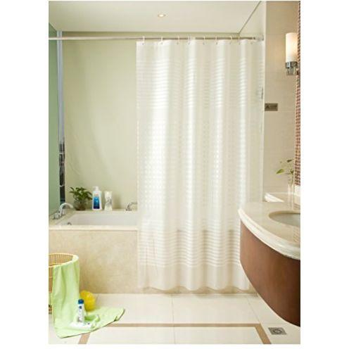 Moderne Duschvorhänge vertikale Streifen Duschvorhang