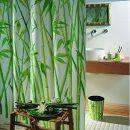 Spirella Duschvorhang Bambus Design