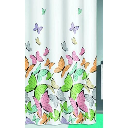 Kleine Wolke Butterflies Duschvorhang