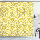 Abakuhaus Duschvorhang Gelb