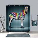 Duschvorhänge mit Zebras