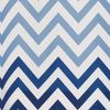 InterDesign Ombre Chevron Textil Duschvorhang