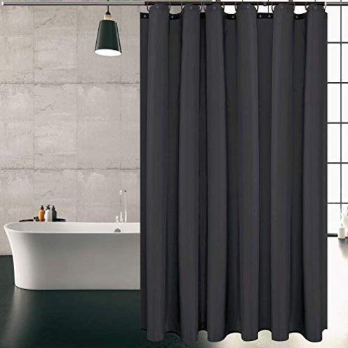 KIPIDA Duschvorhang Textil
